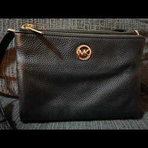 Michael Kors Bags - Black Michael Kors Satchel/ Crossbody